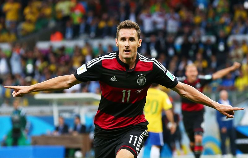 Nobody has scored more World Cup goals than Miroslav Klose