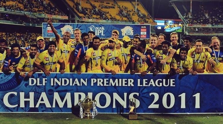 CSK won the IPL in 2010 and 2011