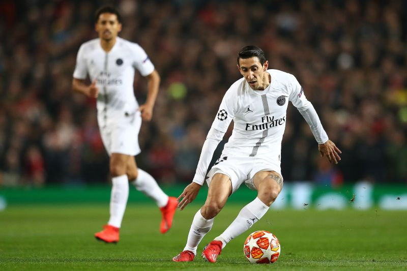 Angel Di Maria flopped at United but helped to torment them for Paris St-Germain in 2018-19