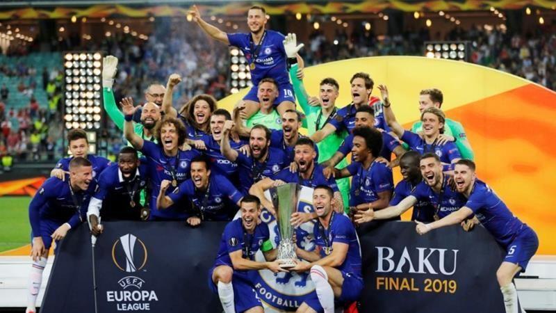Chelsea won the 2018-19 Europa League