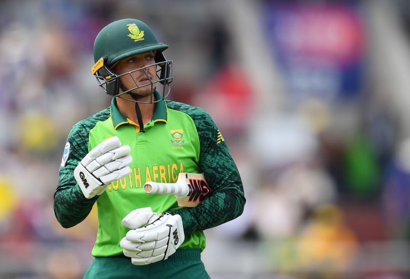 Quinton de Kock will captain South Africa
