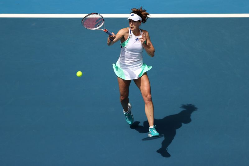 Alize Cornet has lost her consistency in recent years