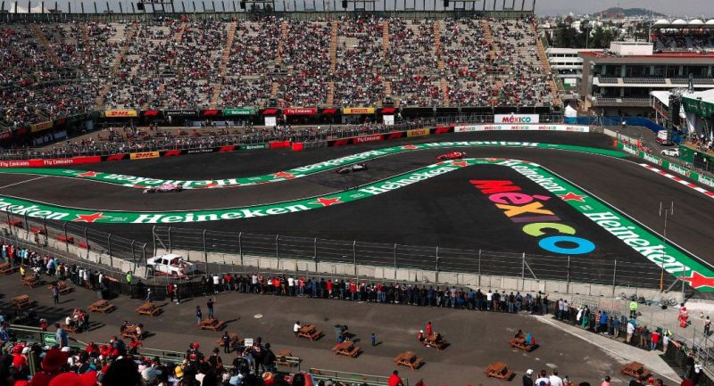 Races like the Mexican Grand Prix coming at the end of the year might be safe from cancellation
