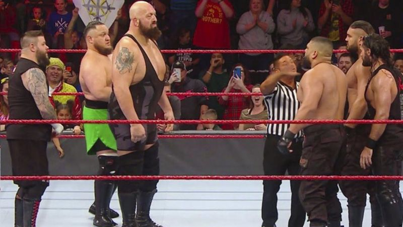 Big Show returned to RAW in January