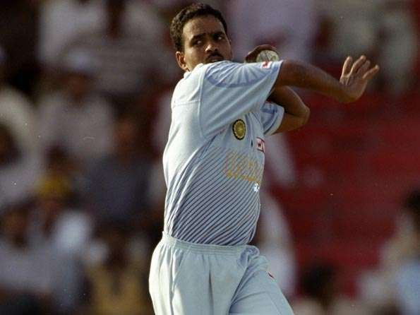 Sunil Joshi had a five-year stint with India