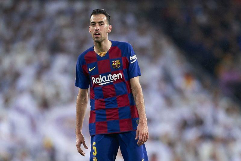 Sergio Busquets was Barca