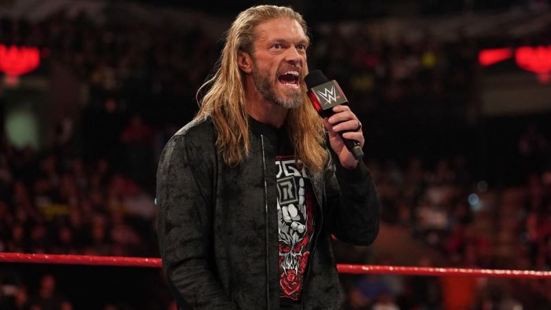 Edge returned to in-ring action at the 2020 Royal Rumble