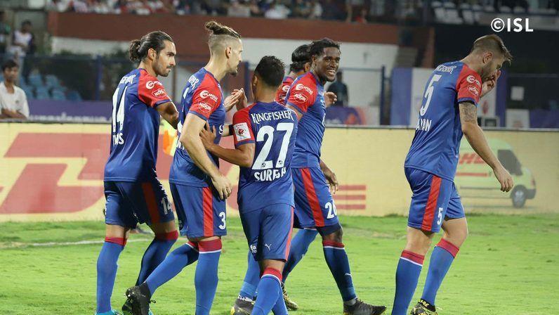 Bengaluru FC posted a narrow 1-0 victory