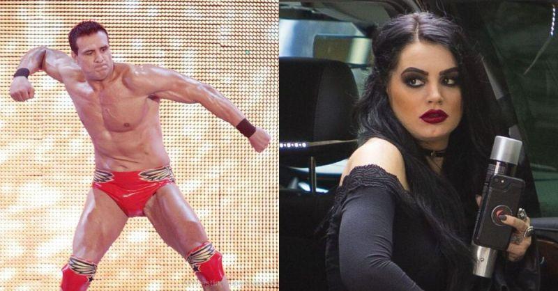 Alberto Del Rio and Paige.