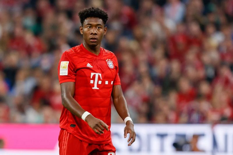 Alaba averages more passes than anyone in the Bundesliga