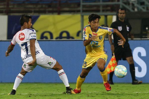 Negi scored in his HERO ISL debut for Kerala Blasters