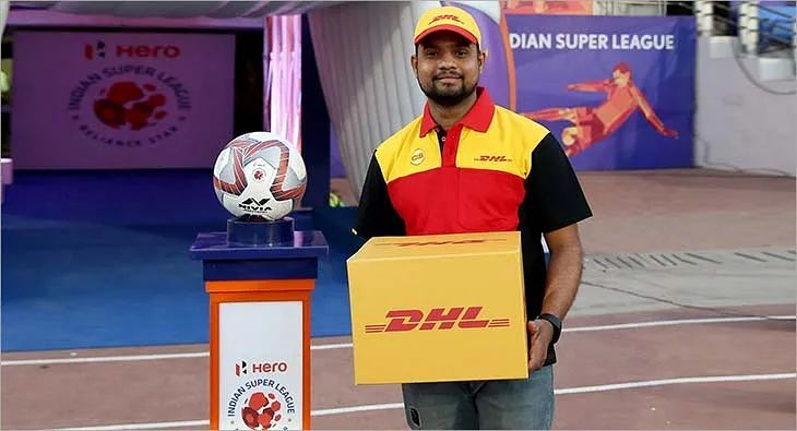 DHL Indian Super League ISL Match Ball Delivery