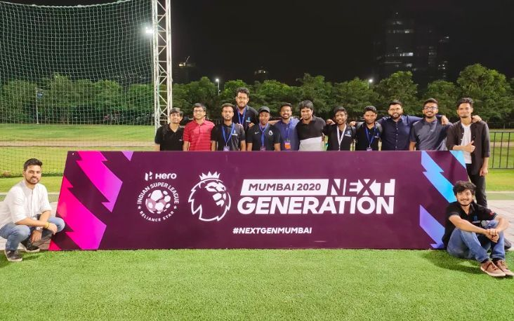 GISB Students at the Premier League Next Generation Cup