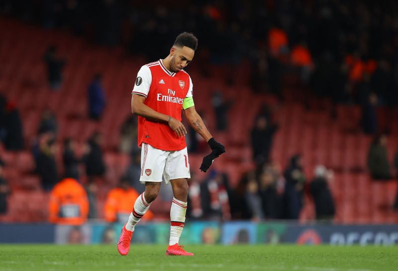 Pierre-Emerick Aubameyang looks destined to leave Arsenal this summer.