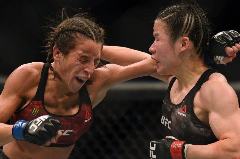 Zhang Weili vs. Joanna Jedrzejczyk