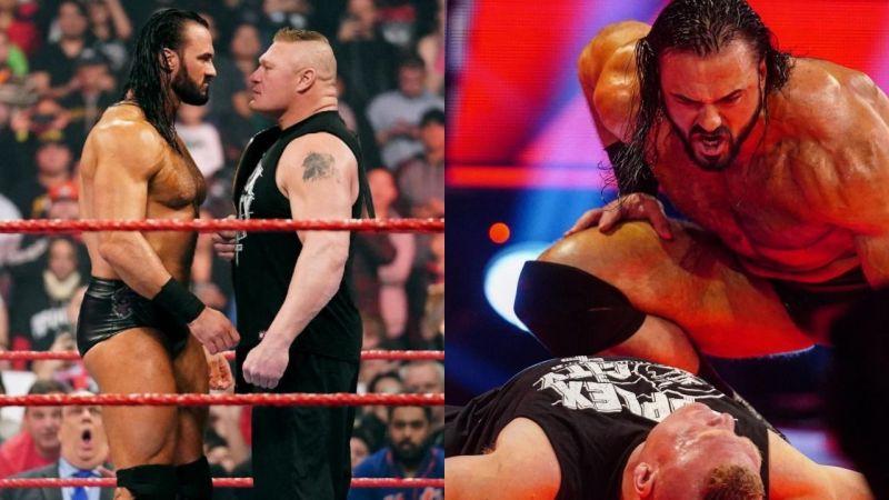 5 Reasons why Drew McIntyre destroyed Brock Lesnar on WWE RAW