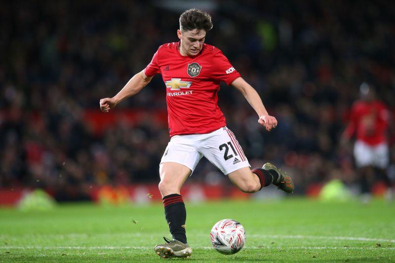 Daniel James has scored four goals for United so far