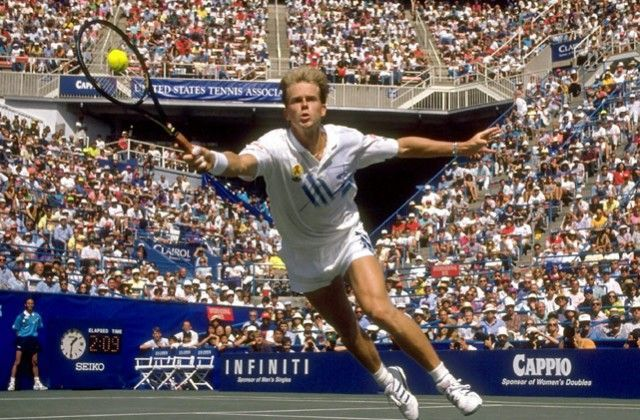Stefan Edberg won the first Masters 1000 title at 1990 Indian Wells.