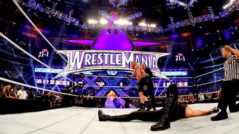 The night Brock Lesnar made history and ended the Undertaker