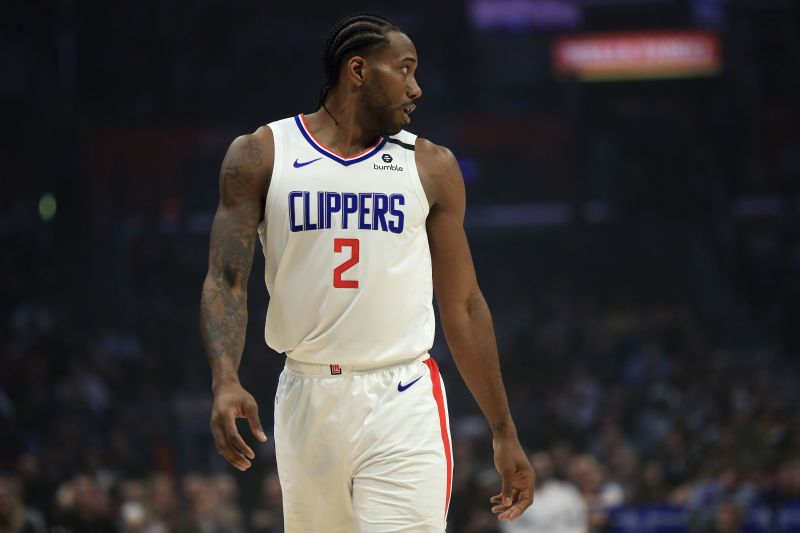 Kawhi Leonard signed with the Clippers during the 2019 summer