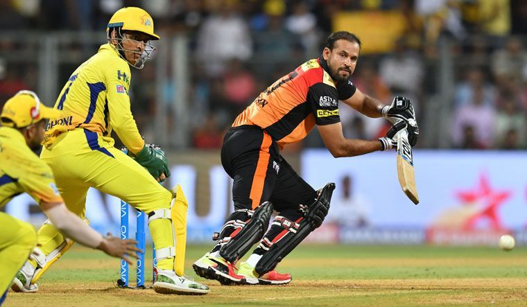 Yusuf Pathan in full flow against CSK
