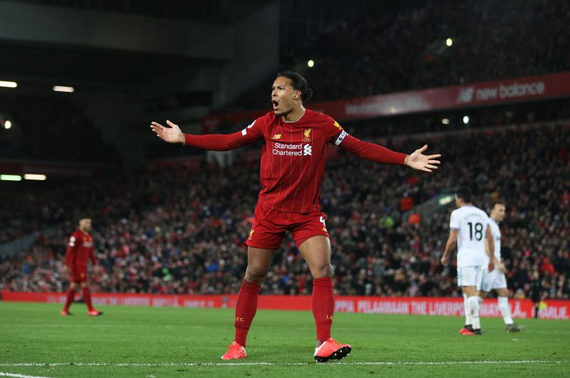 Van Dijk was his usual colossal self tonight
