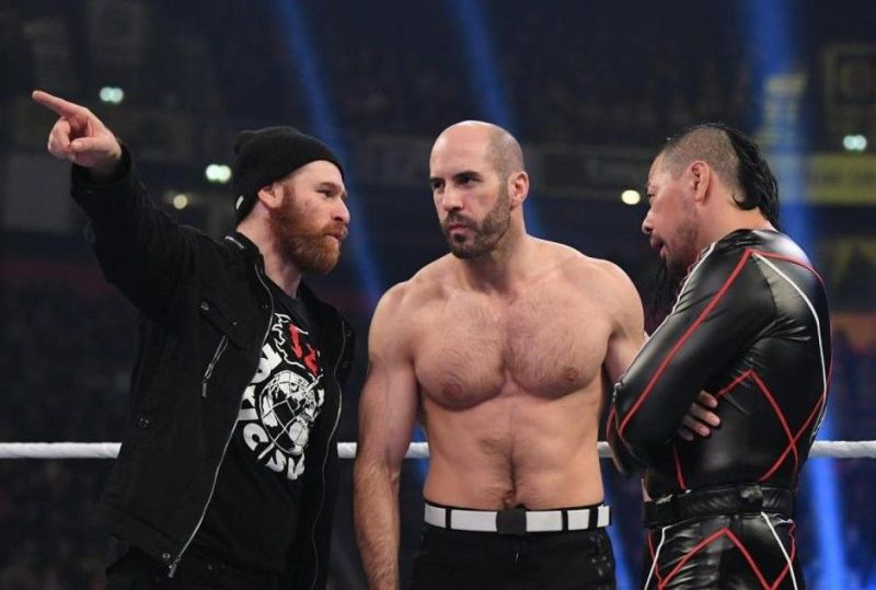 Cesaro deserves a push after taking all the falls