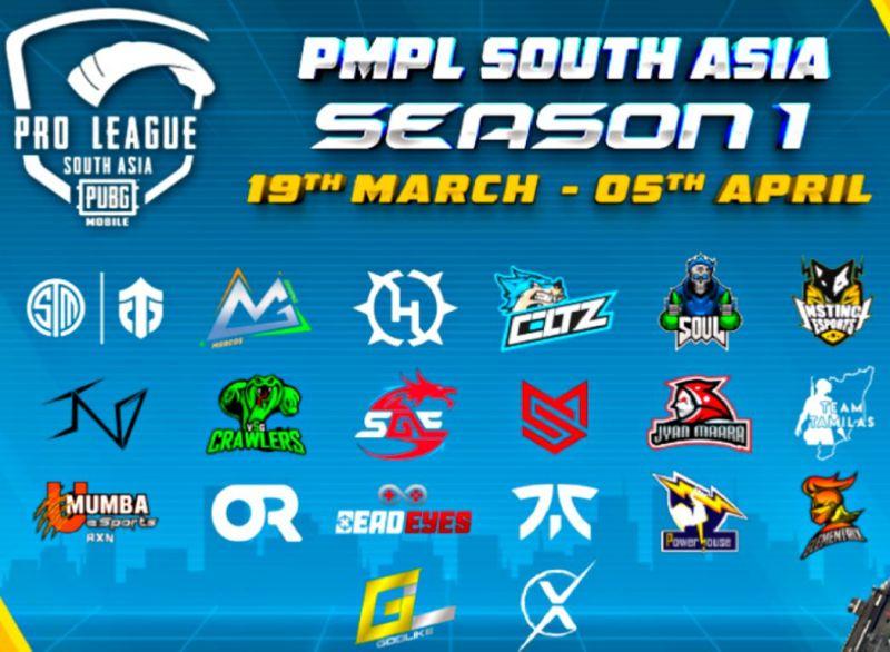 PMPL South Asia Season 1
