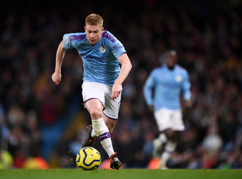 Kevin De Bruyne is easily the best player in the league