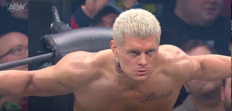 Cody is in Jon Moxley
