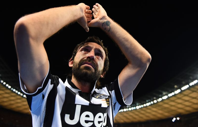Andrea Pirlo bids farewell to Juventus fans