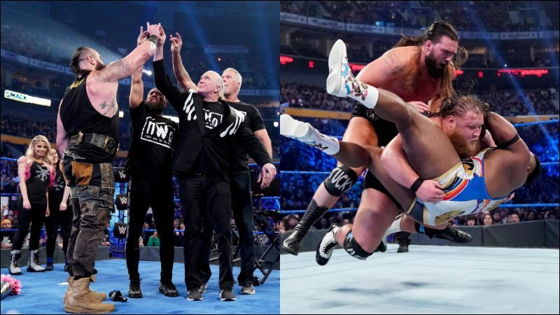 SmackDown focused a lot on tag team action