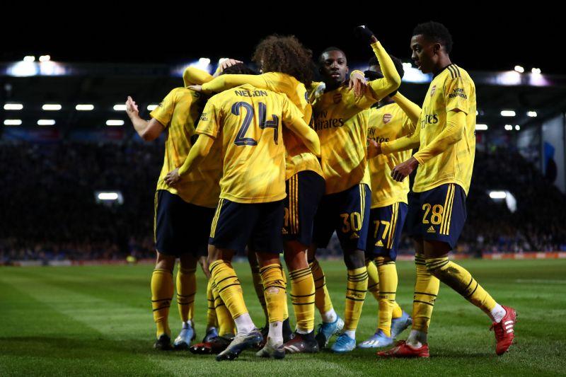 Arsenal cruised past Portsmouth