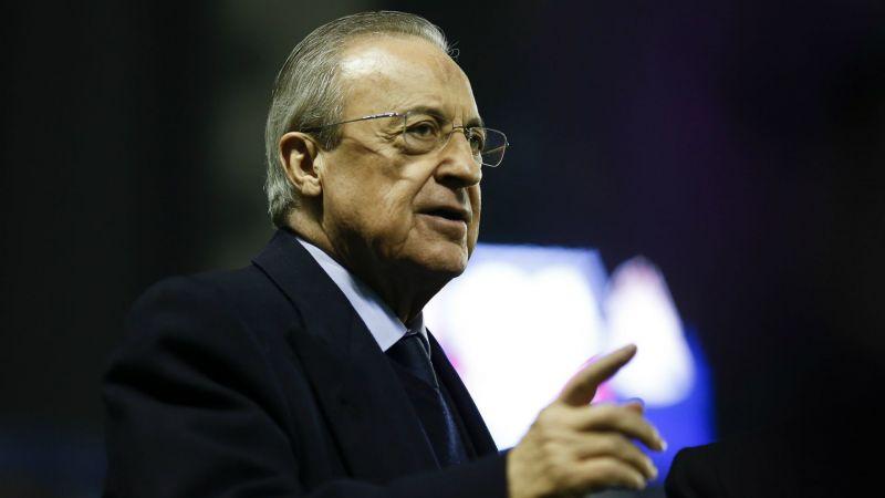 Florentino Perez Levante UD v Real Madrid CF La Liga 02222020