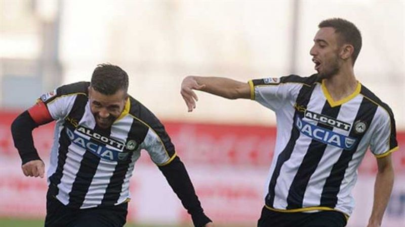 Fernandes was mentored by Di Natale at Udinese