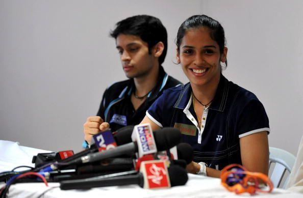 Parupalli Kashyap and Saina Nehwal