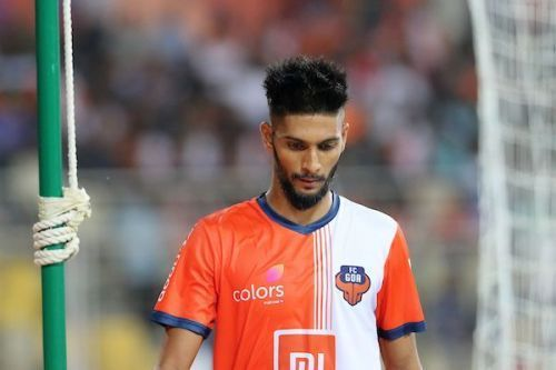 Ali signed a 3-year contract with FC Goa in 2017