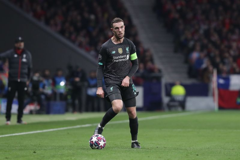 Henderson will be hoping to make a return in the second leg against Atletico Madrid