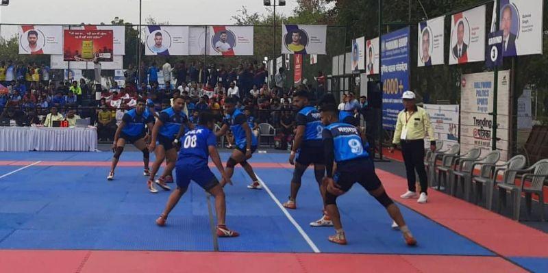 Maharashtra vs. Jammu & Kashmir (Pool C)