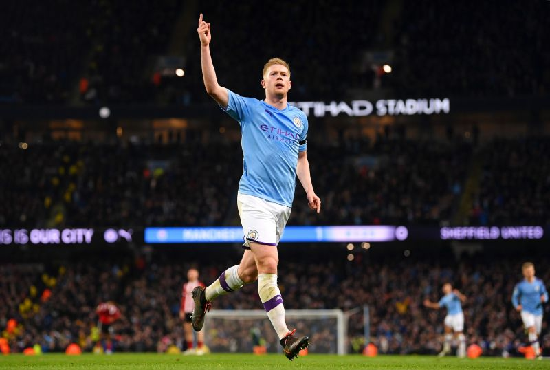Kevin De Bruyne is the shoo-in for the PFA Player of the Year