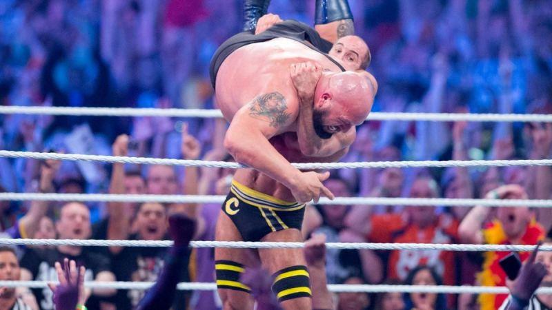 Cesaro eliminates Big Show