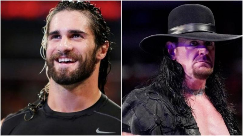 Seth Rollins and The Undertaker have an envious record at WrestleMania