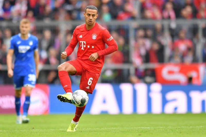 Thiago is an indispensable member of Bayern Munich