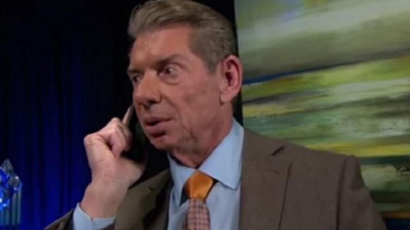 Vince McMahon was on RAW backstage this week to make quite a few changes