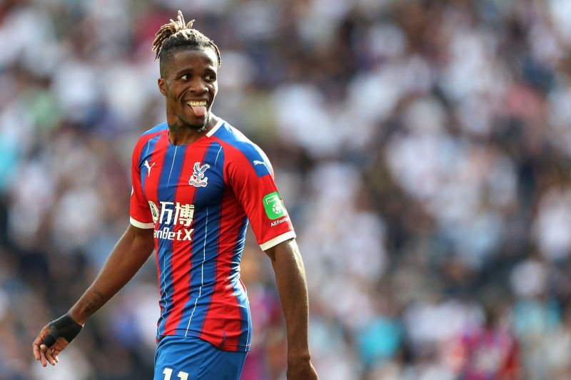 Despite not being at his best, Zaha has made the difference for the Eagles
