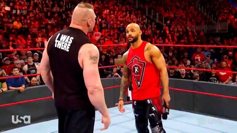 Brock Lesnar and Ricochet