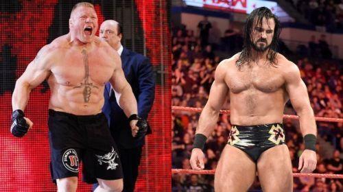 Brock Lesnar vs Drew McIntyre
