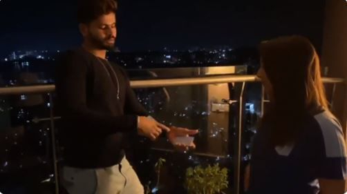 Shreyas Iyer shows off his magic skills