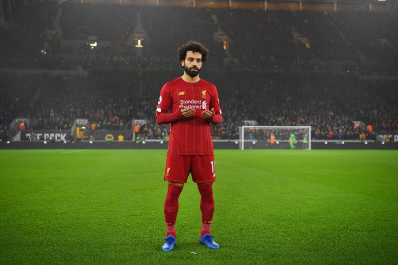 Salah has been leading the charge upfront for Liverpool