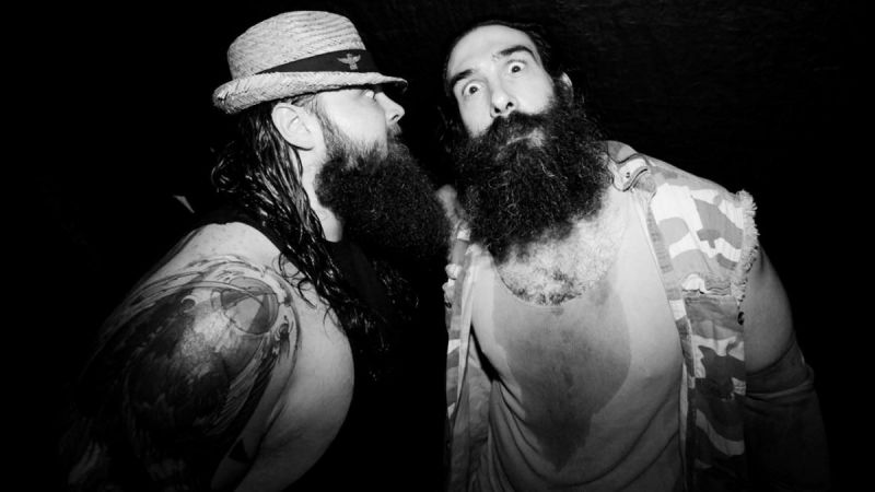 Bray and Harper as part of The Wyatt Family